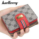 luxury brand fashion women Wallets leather Card Holder Clutch Wallet classic hasp purse Female zipper wallet with Coin pocket - Creative Dreamscape