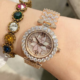 2019 New Fashion Silver Women Watches Top Luxury Ladies Watch Women Rhinestone Crystal Quartz Watches Dress Wristwatches Clock - Creative Dreamscape