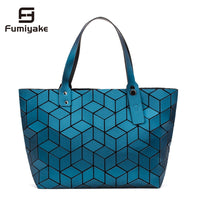 2019 Newest Women Geometric Bag Casual Tote Water Cube Style Handbag Designer Famous Brand Luxury Shoulder Bag bolsos - Creative Dreamscape