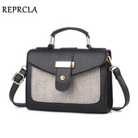 REPRCLA 2019 Fashion Shoulder Bag Leather Handbag Small Flap Women Messenger Bags High Quality PU Crossbody Bags Ladies Purse - Creative Dreamscape