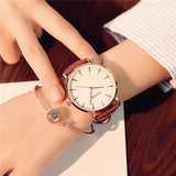 Exquisite simple style women watches luxury fashion quartz wristwatches ulzzang brand woman clock montre femme - Creative Dreamscape