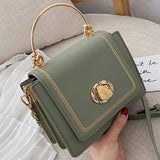 Solid color Leather Mini Crossbody Bags For Women 2019 Summer Messenger Shoulder Bag Female Travel Phone Purses and Handbags - Creative Dreamscape