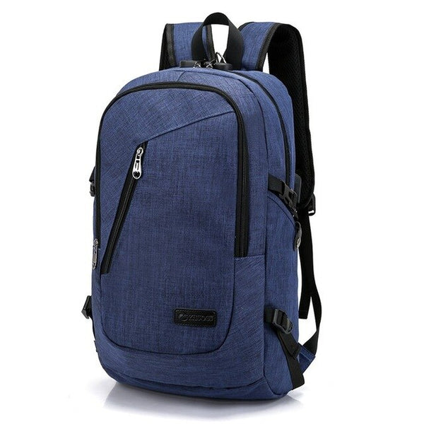 Anti Theft Business Laptop Backpack With USB Charging Port Unisex Travel Backpack School Bag Mochila Smart Backbag F-405 - Creative Dreamscape