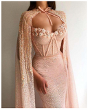 Elegant Mermaid Evening Dress - Creative Dreamscape
