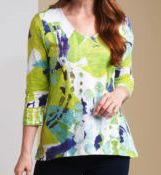 Load image into Gallery viewer, Habitat Print Swing Tunic