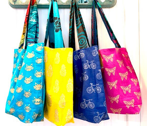 Colorful Shopping Tote