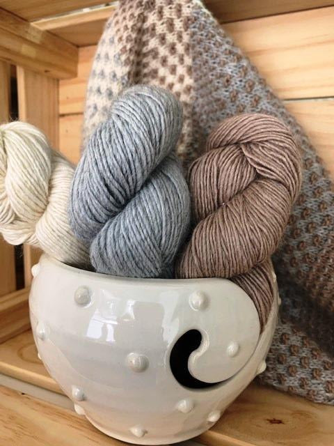 Yarn Bowl and Scarf Kit