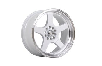 59 North Wheels D-004 white/polished lip