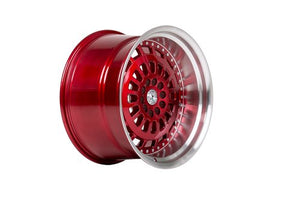 59 North Wheels D-007 candyred/polished lip