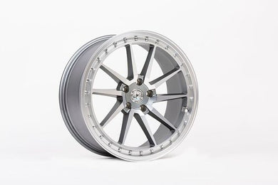 59 North Wheels S-001 gunmetal/matt polished