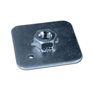 Bakplate øyebolt FIA 65x65x3mm