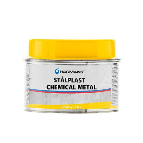 Hagmans Stålplast Chemical Metal, 180ml
