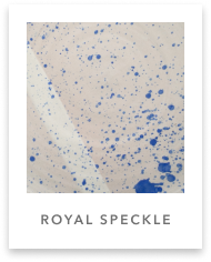 royal speckle glaze