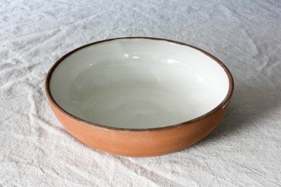 Red Stone Serving Bowl