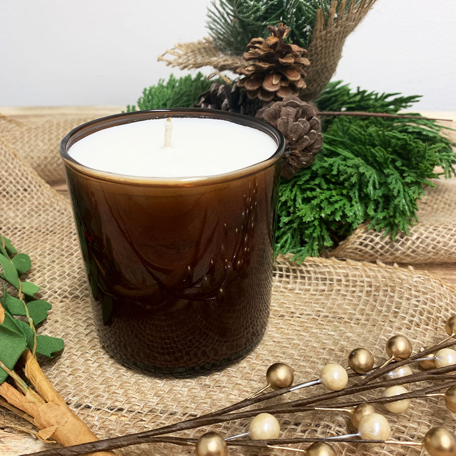 Blue Spruce Soy & Beeswax Candle