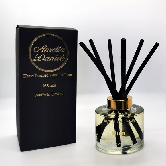 'Happy Birthday' Reed Diffuser - Amelia Daniels