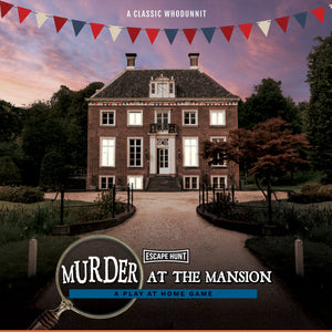 Murder at the Mansion | Escape Hunt | Play at Home Game