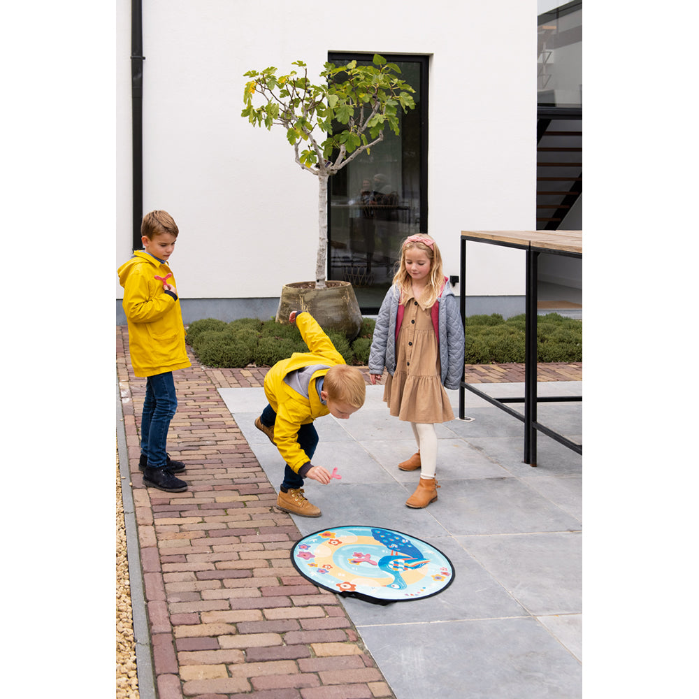Scratch/Active Play DISKER Game Magnetic//Space diam.60cm,/with 3 Magnetic diskers 3+