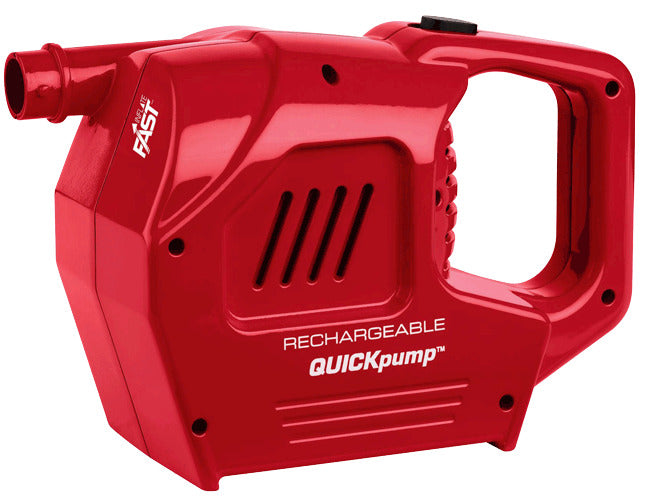 Quickpump rechargeable 12V & 240V