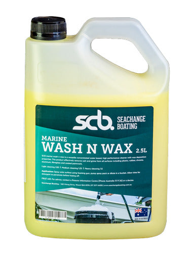 Marine wash n wax 2.5L