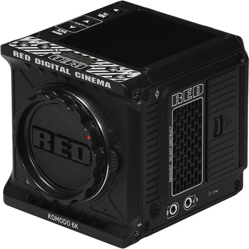 RED DIGITAL CINEMA KOMODO 6K CAMERA (BLACK, CANON RF)