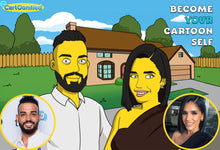 Load image into Gallery viewer, I'm Cartoonified | Simpsonify Me - Canvas | Personalised Canvas Artworks