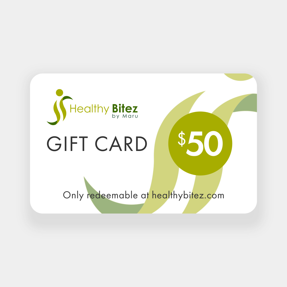 Gift Card from Healthy Bitez by Maru