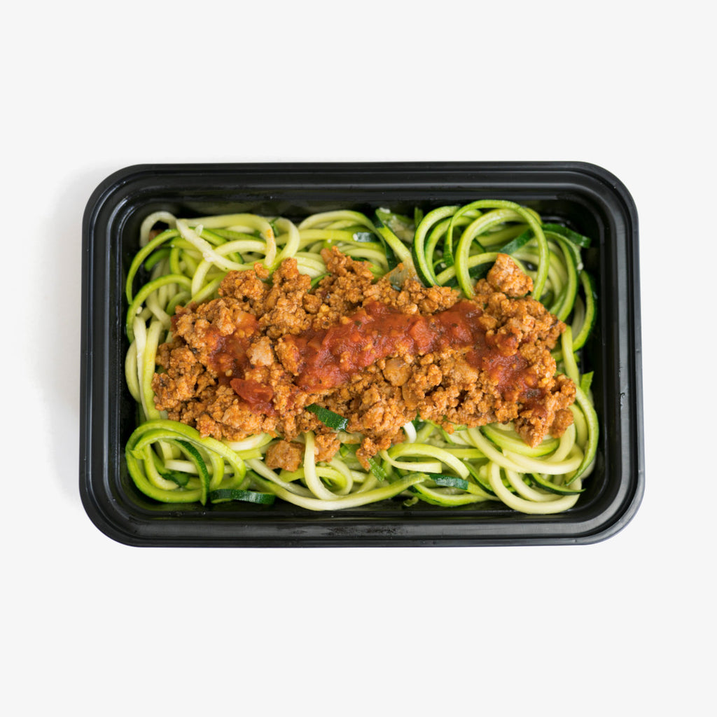 Turkey Bolognese and Zoodles