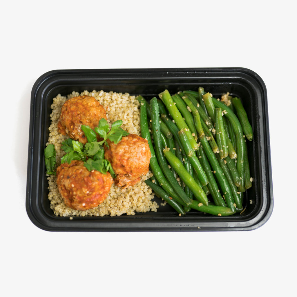 Turkey Meatballs and Quinoa
