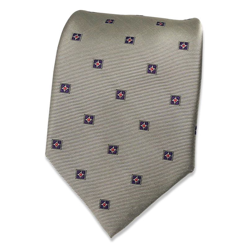 Kubo Classic silk mini pattern tie