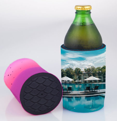 Sublimated Stubby Cooler with Base SUB002