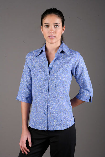 Breeze Ladies 3/4 Sleeve Shirt 2172-BR
