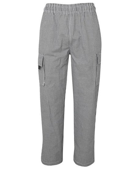 Chef's Elasticated Cargo Pant Check 5ECP