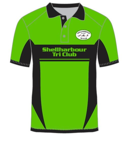 Polo Shirt Shellharbour Tri Club 115-LP115 SUB