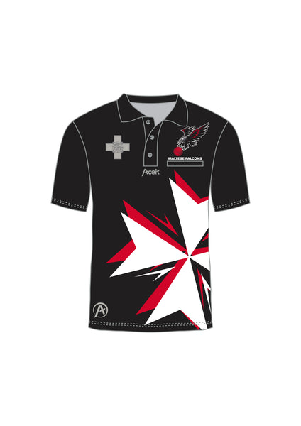 Supporters Polo Black