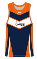 Hockey Playing Mens Singlet WRAS TS600 SUB