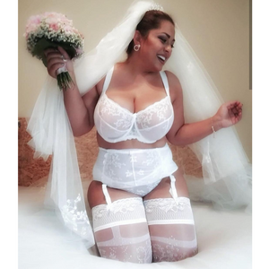match with white bra bralette and garter belt, perfect for wedding, wedding dress, honeymoon, summer, every day wear