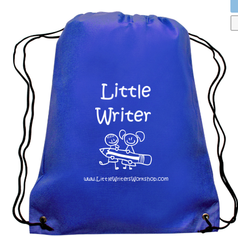 M: Little Writer Draw String Back Pack
