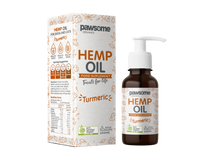 Load image into Gallery viewer, Pawsome Organics Hemp Oil with Turmeric