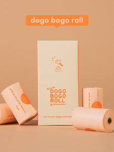 How We Roll Co. Dogo Bogo Roll Compostable Waste Bags
