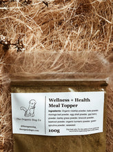 Load image into Gallery viewer, The Organic Dog Go Wellness & Health Meal Topper