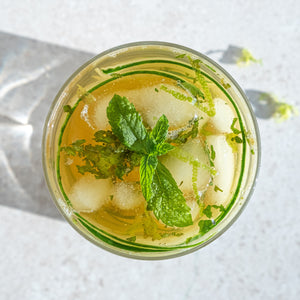 Clean Gin and Mint Mocktail
