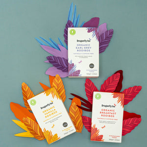 Organic Rooibos Range Now In Biodegradable Teabags