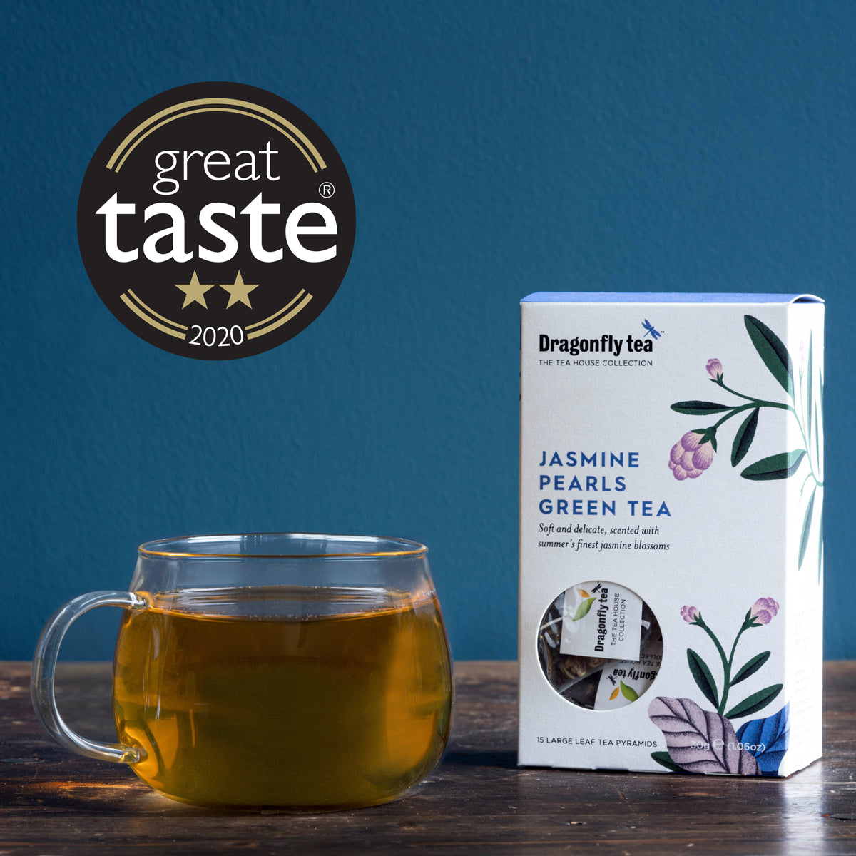 Dragonfly Tea wins Great Taste Awards!
