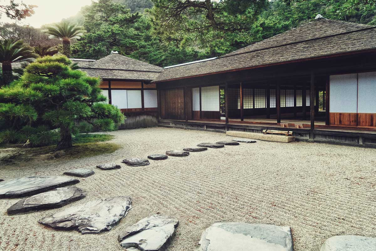 Traditional teahouse