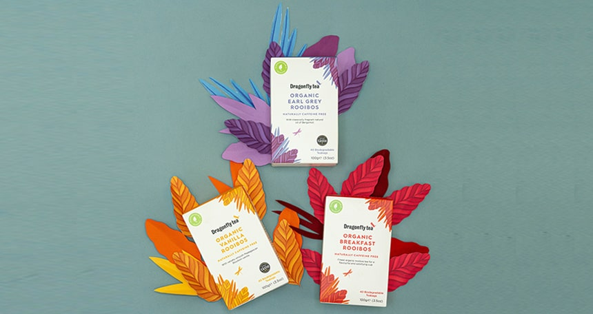 Rooibos Range Now In Biodegradable Teabags