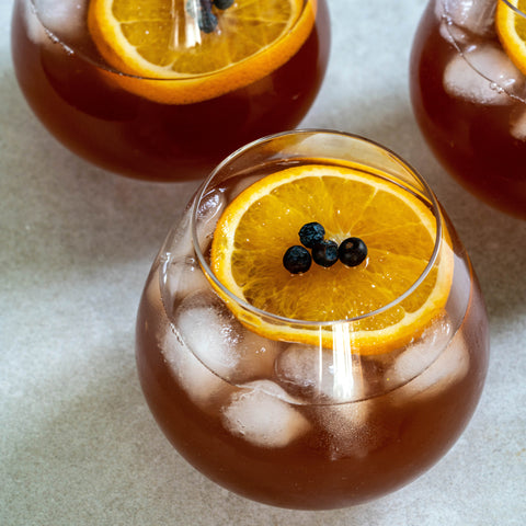 Dragonfly Tea infused Halloween punch
