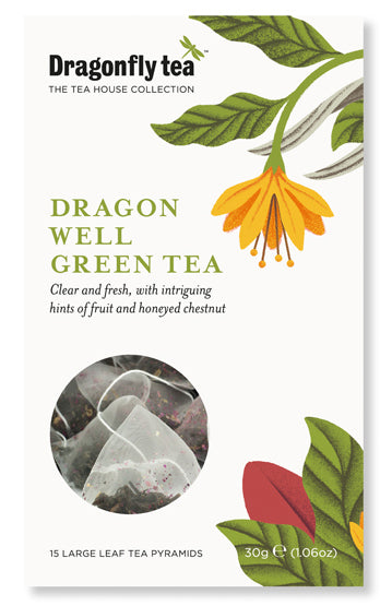 dragon well fresh green tea
