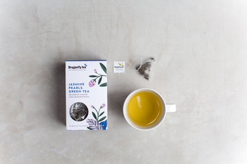 Dragonfly biodegradable tea bags