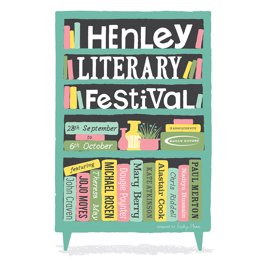 win tickets for henley literary festival